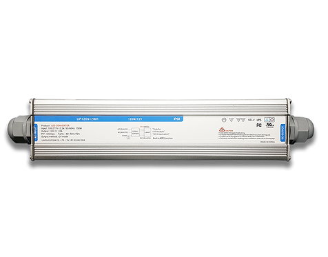 120W - 12VDC SMPS with 110-277 VAC Input