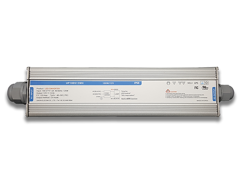 100W - 12VDC SMPS with 110-277 VAC Input