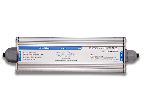 60W - 12VDC SMPS with 110-277 VAC Input