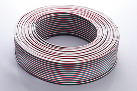 18 AWG 4P Wire for RGB/DMX -1000FT