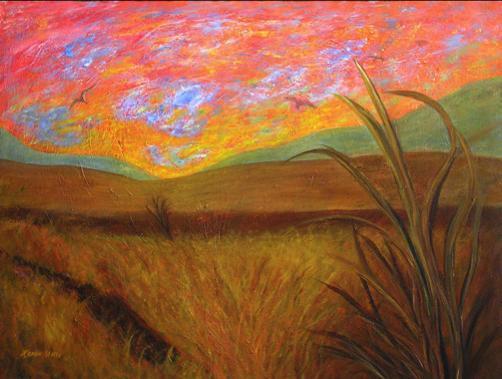 Wheatfields at Dusk