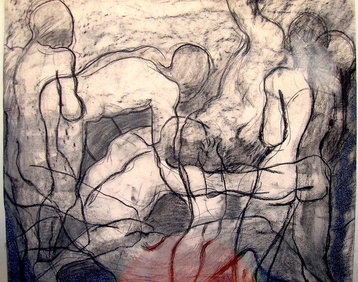 Charcoal Bodies 3