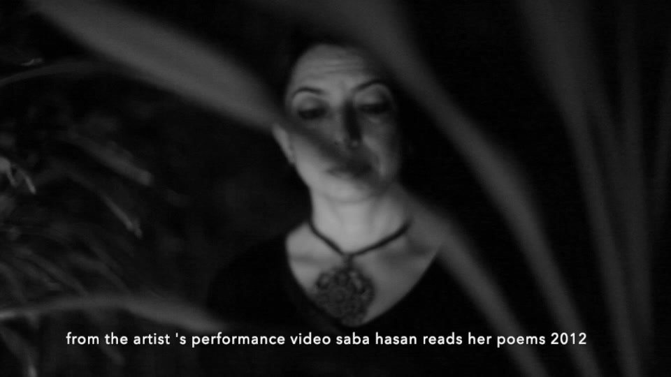 Saba reads her poems