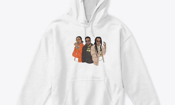 AMIGOS PULL OVER HOODIE