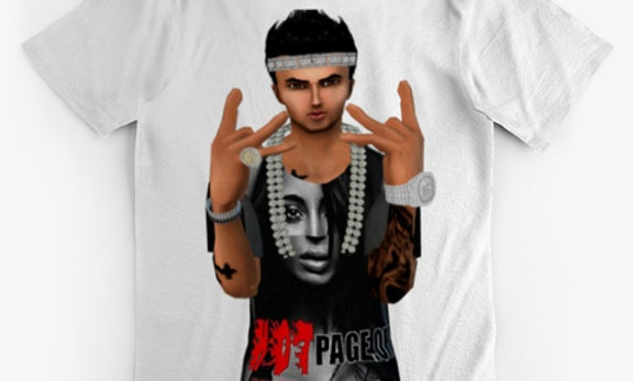 HOT PAGE TEE -5