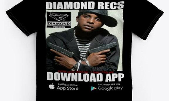 DIAMOND RECS - TEE SHIRT