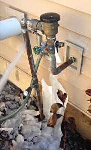 Vacuum Breaker Cold Weather Damage
