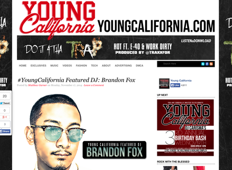 YOUNGCALIFORNIA: FEATURED DJ
