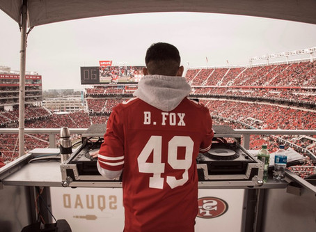 49ERS WELCOME BACK BRANDON FOX