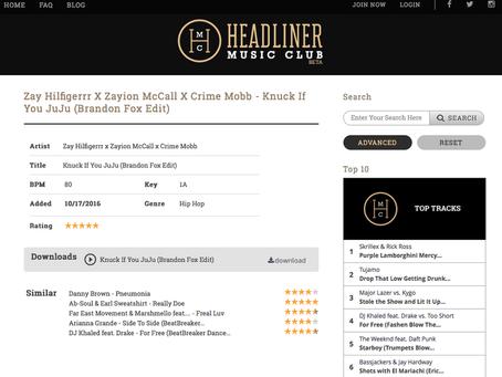 HEADLINER MUSIC CLUB: KNUCK IF YOU JUJU