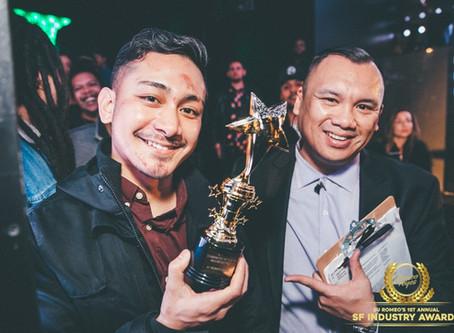 Brandon Fox wins Industry Award