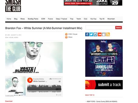 SmashTheClub feature: White Summer mix