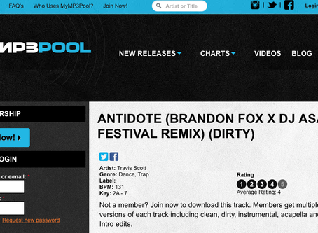 MYMP3POOL FEATURE: ANTIDOTE REMIX