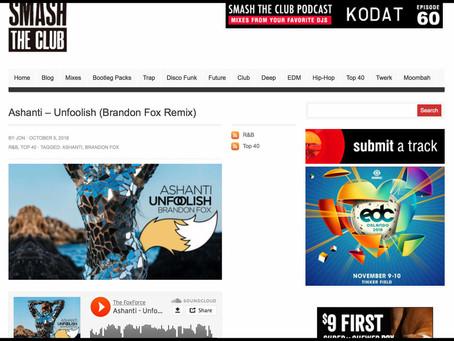 SmashTheClub features Brandon Fox
