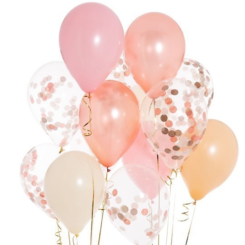 Latex ballong med helium