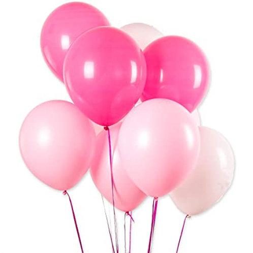Latex ballong med helium (Per stk.)