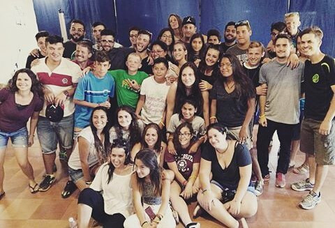 Teens from Málaga and Cártama enjoying Palabra de Vida camp!