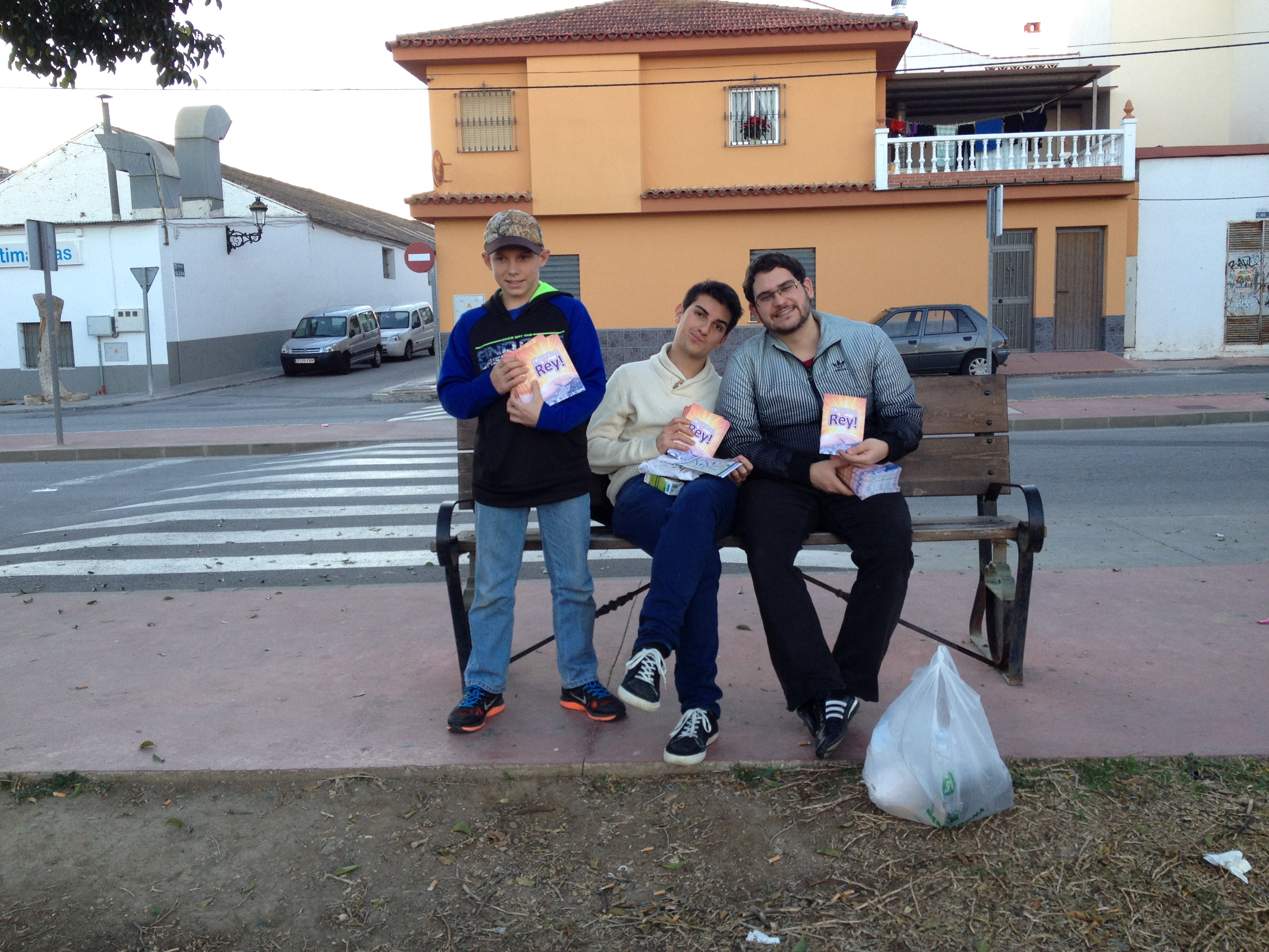 Tract and Literature Distribution