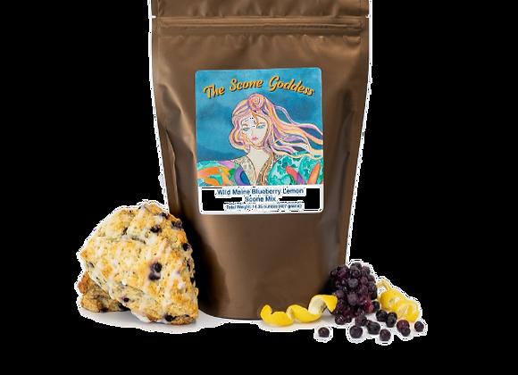 Wild Maine Blueberry Lemon Premium Scone Mix