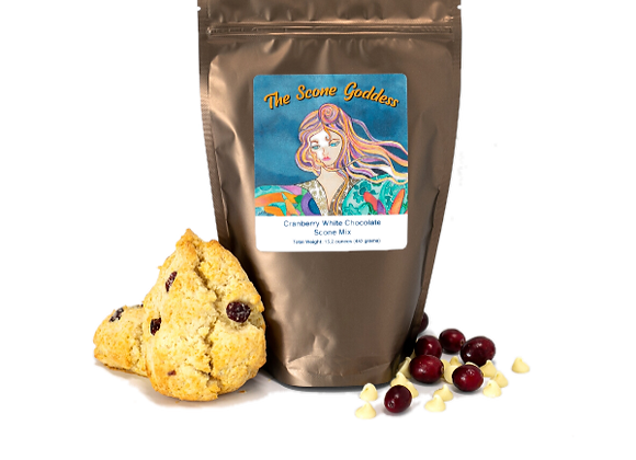 Cranberry White Chocolate Premium Scone Mix