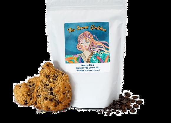 Gluten Free Mocha Chip Premium Scone Mix