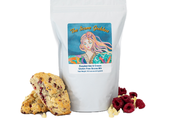 Gluten Free Raspberries & Cream Premium Scone Mix