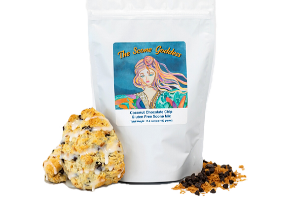 Gluten Free Coconut Chip Premium Scone Mix