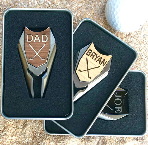 Golf Ball Marker & Divot Tool in Gift Box