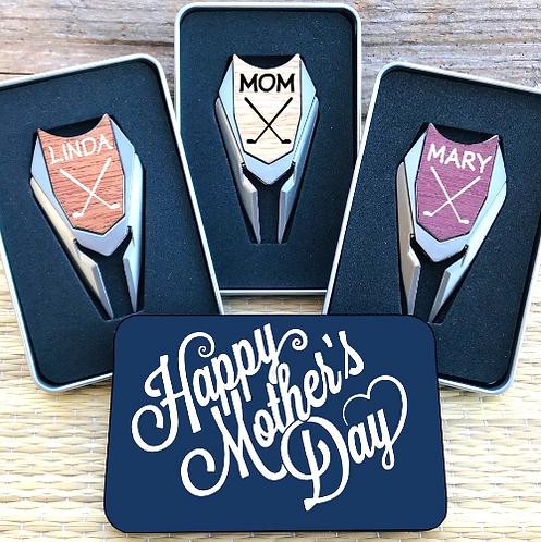 Golf Ball Marker & Divot Tool - Mother's Day Gift