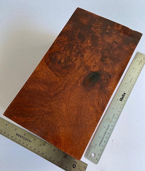 amboyna burl pen blanks knife scales turing block