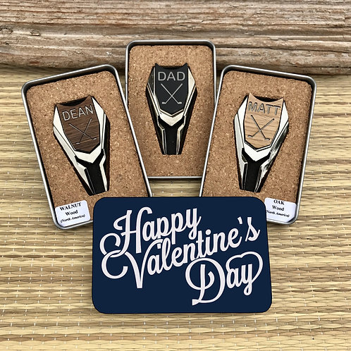 Golf Ball Marker & Divot Tool -Valentine's Day Gift