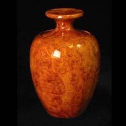 Vase Box Amboyna Burl