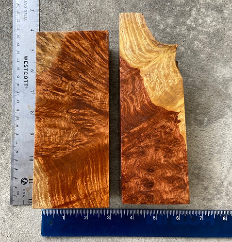 amboyna burl turning pen blanks blocks knife scales narra paduak wood