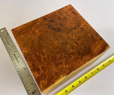 amboyna burl pen blanks slab wood knife scales pool cue