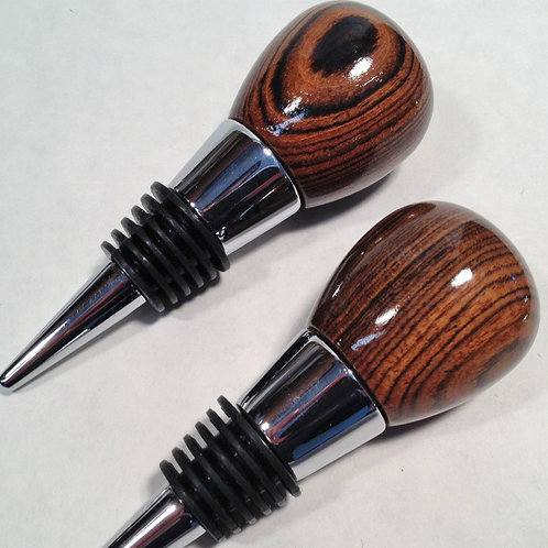 Wine Stoppers Exotic Woods
