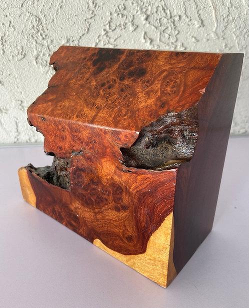 amboyna burl redwood burl paduak wood turning blank block pen blanks bowl blank