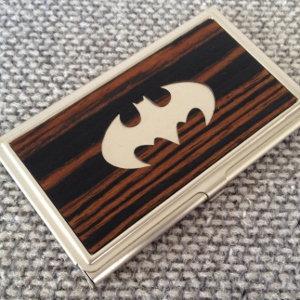 Batman / Superman Bus. Card Case