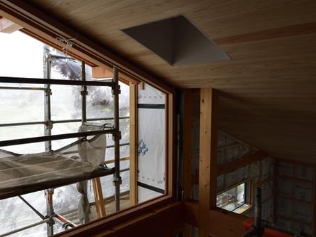 『木製サッシ』安曇野の家6 20210811