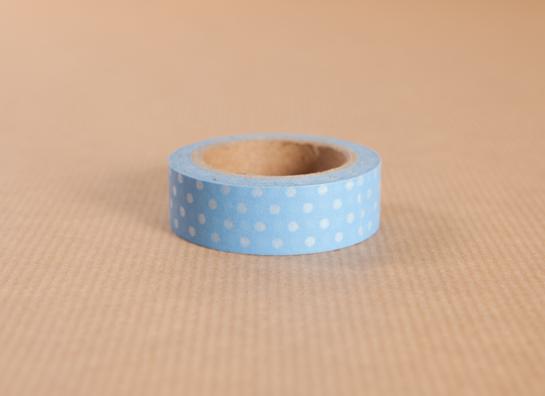 Blue Polka Dot Tape