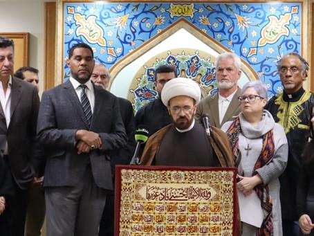 Detroit area faith community calls for peace in Iran
