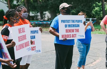 Activists  Push Lawmakers to Extend Pandemic Unemployment Benefits