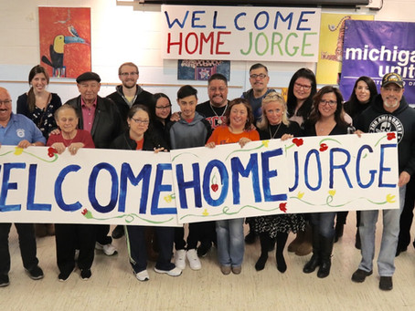 Welcome Home: Jorge Garcia Returns to Michigan After Deportation to Mexico