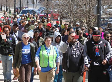 Groups protest anti-sanctuary city bills in Michigan legislature
