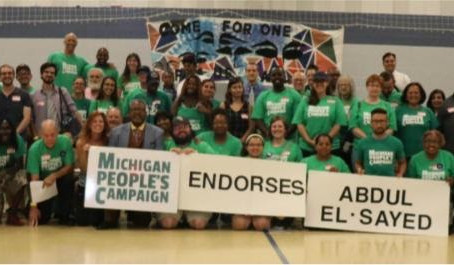 Michigan People's Campaign endorses Abdul El-Sayed for Governor