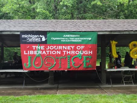 Michigan United celebrates Juneteenth holiday with Black liberation summit