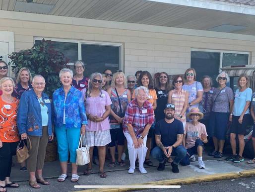 Village Park Ladies Donate to the Samaritan Inn