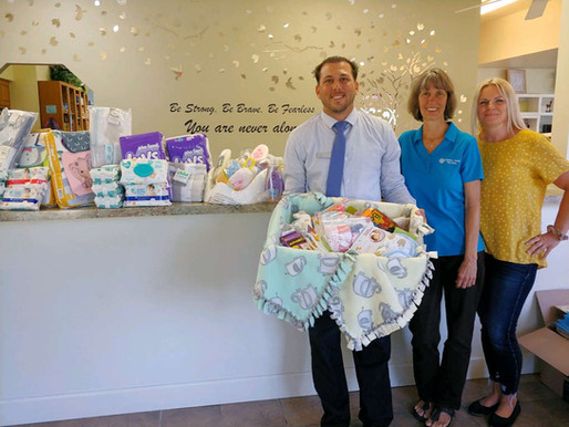 Bank of America's Baby Shower Benefits the Pregnancy & Family Care Center