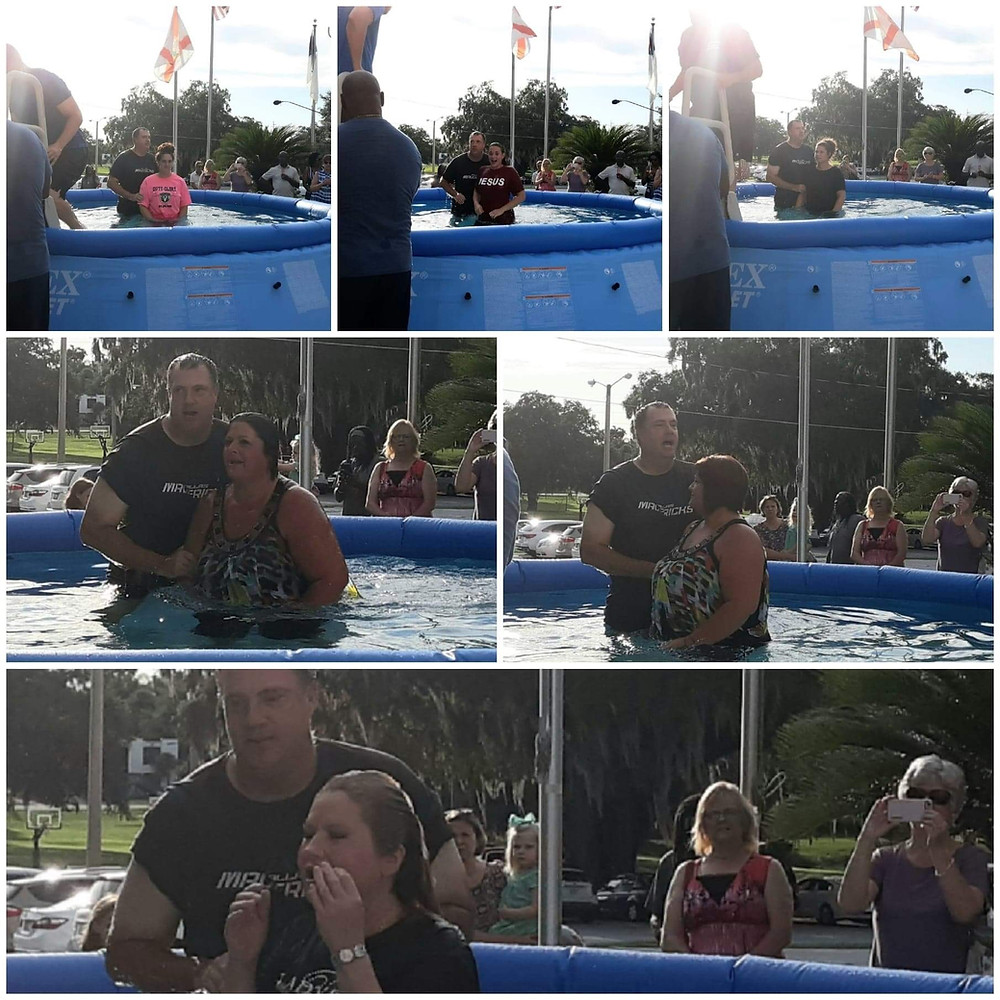 5 residents of Women's Care Center are baptized