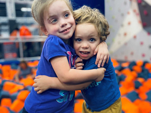 Samaritan Inn Kids take a trip to Sky Zone