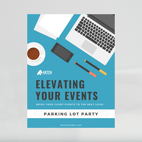 Parking Lot Party Event Template